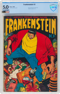 Frankenstein Comics #2 (Prize, 1946) CBCS VG/FN 5.0 Cream to off-white pages