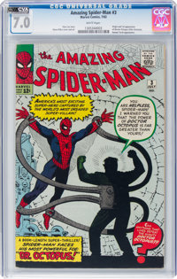 The Amazing Spider-Man #3 (Marvel, 1963) CGC FN/VF 7.0 White pages