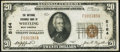National Bank Notes:West Virginia, Wheeling, WV - $20 1929 Ty. 1 The National Exchange Bank Ch. # 5164 Fine-Very Fine.. ...