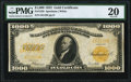 Large Size:Gold Certificates, Fr. 1220 $1,000 1922 Gold Certificate PMG Very Fine 20.. ...