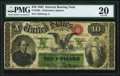 Large Size:Interest Bearing Notes, Fr. 196a $10 1863 Interest Bearing Note PMG Very Fine 20.. ...