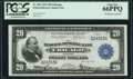 Large Size:Federal Reserve Bank Notes, Fr. 824 $20 1915 Federal Reserve Bank Note PCGS Gem New 66PPQ.. ...