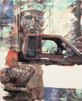 Prints & Multiples:Print, Robert Rauschenberg (1925-2008). American Indian, 2000. Archival pigment print on Concord rag paper. 36 x 29-3/4 inches ...
