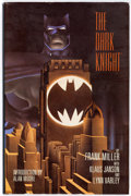 Books:Signed Editions, Batman: The Dark Knight Returns Signed Limited Edition Hardcover (DC, 1986) Condition: FN/VF....