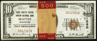 Seattle, WA - $10 1929 Ty. 1 First Seattle Dexter Horton NB Ch. # 11280 Pack of Fifty Consecutive Examples... (Total: 50...