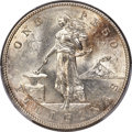 Philippines, 1905-S Peso Philippines Peso, Curved Serif on 1, KM-168, Allen-16.06, MS63 PCGS. ...