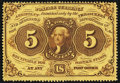 Fractional Currency:First Issue, Fr. 1228 5¢ First Issue New.. ...