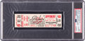 """Football Collectibles:Tickets, 1965 Green Bay Packers vs. Baltimore Colts """"Phantom Field Goal"""" Playoff Game, PSA Authentic - Pop 1 of 4...."""