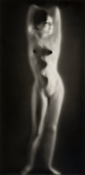 Photographs:Gelatin Silver, Ruth Bernhard (American, 1905-2006). Luminous Body, 1962.Gelatin silver, printed later. 13-1/4 x 6-1/2 inches (33.7 x 1...