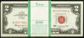 Small Size:Legal Tender Notes, Fr. 1513 $2 1963 Legal Tender Notes. Original Pack of 100. Choice Crisp Uncirculated.. ... (Total: 100 notes)