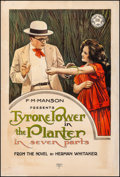"""Movie Posters:Drama, The Planter (Mutual, 1917). Fine- on Linen. One Sheet (27.25"""" X 41""""). Drama.. ..."""