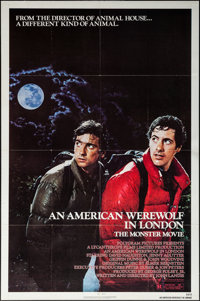 "An American Werewolf in London (Universal, 1981). Folded, Very Fine. One Sheet (27"" X 41""). Horror"