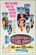 """Movie Posters:Comedy, Dr. Goldfoot and the Girl Bombs (American International, 1966). Folded, Very Fine. One Sheet (27"""" X 41""""). Comedy.. ..."""