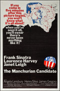 """Movie Posters:Thriller, The Manchurian Candidate (United Artists, 1962). Folded, Very Fine. One Sheet (27"""" X 41""""). Thriller.. ..."""