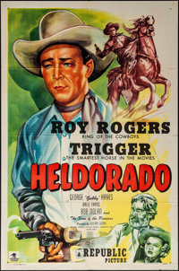 "Heldorado (Republic, 1946). Folded, Very Fine-. One Sheet (27"" X 41""). Western"