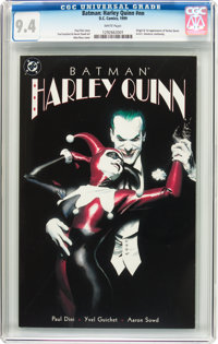 Batman: Harley Quinn #nn (DC, 1999) CGC NM 9.4 White pages