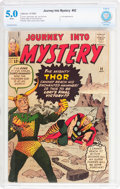 Silver Age (1956-1969):Superhero, Journey Into Mystery #92 (Marvel, 1963) CBCS VG/FN 5.0 White pages....