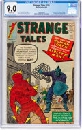 Silver Age (1956-1969):Superhero, Strange Tales #111 (Marvel, 1963) CGC VF/NM 9.0 Off-white pages....