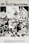 Original Comic Art:Complete Story, Frank Springer Big Valley #5 Complete 10-Page Story OriginalArt (Dell, 1967).... (Total: 10 Items)
