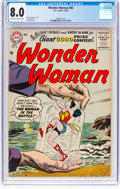 Silver Age (1956-1969):Superhero, Wonder Woman #85 (DC, 1956) CGC VF 8.0 Off-white to white ...