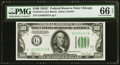 Fr. 2155-G $100 1934C Federal Reserve Note. PMG Gem Uncirculated 66 EPQ