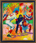 Baseball Collectibles:Others, 1975 Pete Rose Original Painting by LeRoy Neiman....