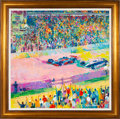 """Miscellaneous Collectibles:General, 1982 """"Finish at Indy"""" Original Painting by LeRoy Neiman...."""