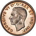"Canada, Canada: George VI ""Pointed 7 - Doubled HP"" Dollar 1947 MS63 PCGS,..."