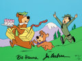"Animation Art:Limited Edition Cel, ""Escape From Ranger Smith"" Yogi Bear Signed Limited Edition Cel AP #11/20 (Hanna-Barbera, 1989)...."