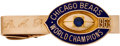 Football Collectibles:Others, 1963 Chicago Bears NFL Championship Tie Clasp Presented to Safety Richie Petitbon. ...
