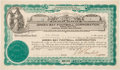Football Collectibles:Others, 1923 Green Bay Packers Stock Certificate....