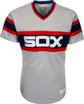 Baseball Collectibles:Uniforms, 1986 Harold Baines Game Worn Chicago White Sox Jersey. ...