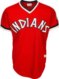 Baseball Collectibles:Uniforms, 1977 Al Fitzmorris Game Worn Cleveland Indians Jersey. ...