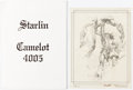 Memorabilia:Comic-Related, Jim Starlin Camelot 4005 Sealed Limited Edition Portfolio #207/1000 and Others Group of 4 Portfolios (Various Publ... (Total: 4 Items)