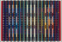Yaacov Agam (b. 1928) Untitled Prismograph 26-1/2 x 35-1/2 inches (67.3 x 90.2 cm) Ed. 18/18 Signed and numbered in