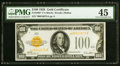 Fr. 2405* $100 1928 Gold Certificate. PMG Choice Extremely Fine 45