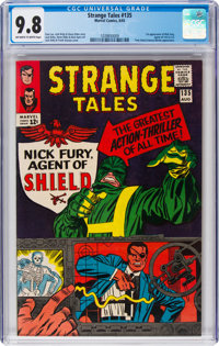 Strange Tales #135 (Marvel, 1965) CGC NM/MT 9.8 Off-white to white pages