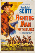 """Fighting Man of the Plains & Other Lot (20th Century Fox, 1949). Folded, Fine/Very Fine. One Sheet (27"""" X 41&qu..."""