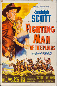 "Fighting Man of the Plains & Other Lot (20th Century Fox, 1949). Folded, Fine/Very Fine. One Sheet (27"" X 4..."