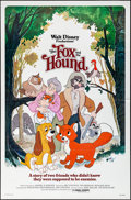 "Movie Posters:Animation, The Fox and the Hound (Buena Vista, 1981). Folded, Very Fine+. One Sheet (27"" X 41""). Animation.. ..."
