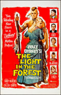 "Movie Posters:Western, The Light in the Forest & Other Lot (Buena Vista, 1958). Folded, Very Fine. One Sheets (2) (27"" X 41""). Reynold Brown Artwor... (Total: 2 Items)"