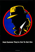 "Movie Posters:Action, Dick Tracy (Buena Vista, 1990). Rolled, Very Fine-. One Sheet (27"" X 40"") DS Advance. Action.. ..."