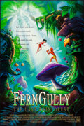 """Movie Posters:Animation, FernGully: The Last Rainforest (20th Century Fox, 1992). Rolled, Very Fine+. One Sheet & International One Sheet (27"""" X 40"""")... (Total: 2 Items)"""