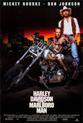 """Movie Posters:Action, Harley Davidson and the Marlboro Man & Other Lot (MGM, 1991). Rolled, Very Fine. One Sheets (2) (27"""" X 40"""") SS. Action.. ... (Total: 2 Items)"""