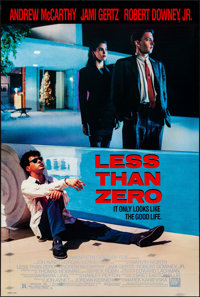 "Less Than Zero & Other Lot (20th Century Fox, 1987). Rolled, Very Fine+. One Sheets (3) (27"" X 40"" &am..."