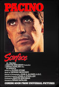 """Movie Posters:Crime, Scarface (Universal, 1983). Rolled, Very Fine. One Sheet (27"""" X 39.75"""") Advance. Crime.. ..."""