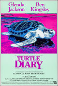 "Movie Posters:Romance, Turtle Diary (CBS, 1985/Samuel Goldwyn, 1986). Rolled, Very Fine. British One Sheet & One Sheet (27"" X 40"") SS, Andy Warhol ... (Total: 2 Items)"