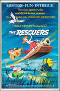 """Movie Posters:Animation, The Rescuers (Buena Vista, 1977). Folded, Very Fine. One Sheet (27"""" X 41""""). Animation.. ..."""