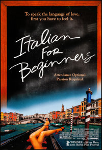 "Italian for Beginners & Other Lot (Miramax, 2002). Rolled, Very Fine. One Sheets (7) (27"" X 40"") DS. Forei..."