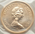 Hong Kong : British Colony. Elizabeth II gold 1000 Dollars 1976 UNC